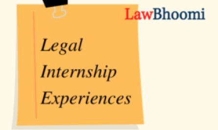 Legal Internship Experiences