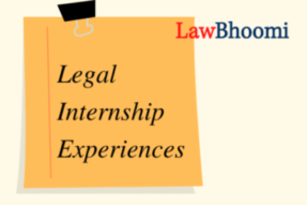 Internship Experience with Adv. Tanuj Kataria: Improved English, written proficiency and legal research skills