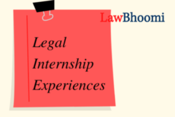 "Internship Experience: District Legal Services Authority – ""I got the first-hand experience of how proceedings take place at District Court"""