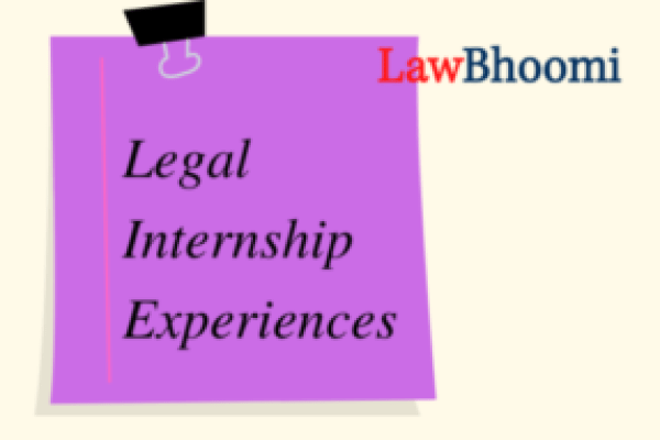 "Internship Experience- D & K LEGAL ""Despite being a virtual internship, the exposure I received was brilliant"""