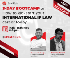 Lawsikho ipr bootcamp