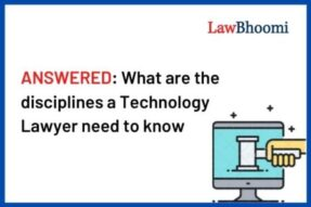 What are the disciplines a Technology Lawyer need to know