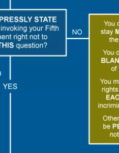 Compelled to answer on  form be it customs declarations or tax returns and your could incriminating refer this part of the flowchart also fifth amendment illustrated guide law rh lawcomic