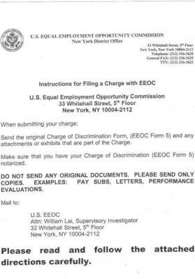 eeo investigator resume