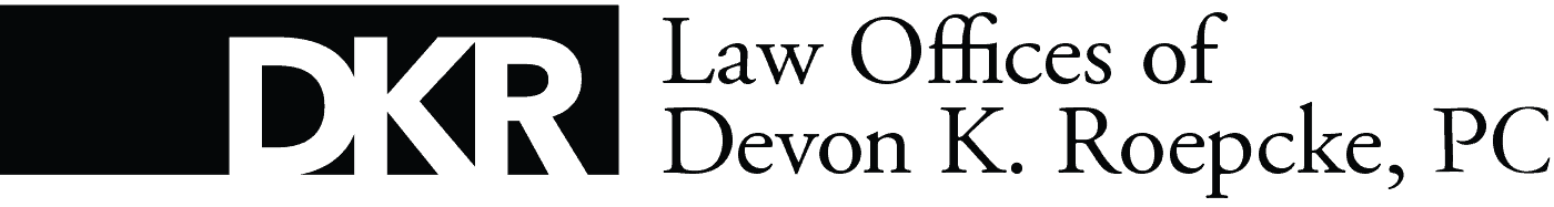 Law Offices of Devon K. Roepcke, PC Logo