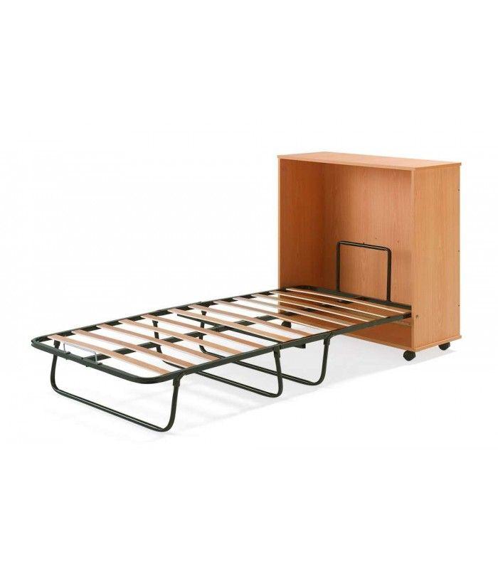 Mueble cama plegable de madera