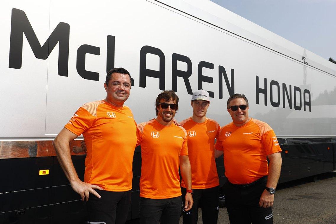 Steven Tee © LAT Images / McLaren HondaF1
