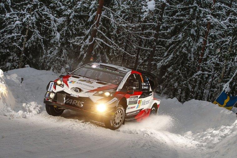 Tanak Suecia jueves © Toyota Gazoo Racing WRC/ McKlein1