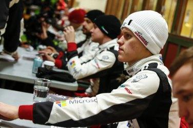Tanak Suecia jueves © Toyota Gazoo Racing WRC/ McKlein3