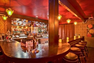 Great shot of bar.Seventy7