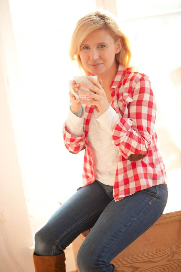Uśmiechnij się przy herbacie :)
