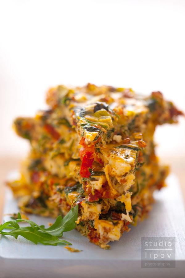 pieczony omlet ze szpinakiem_3