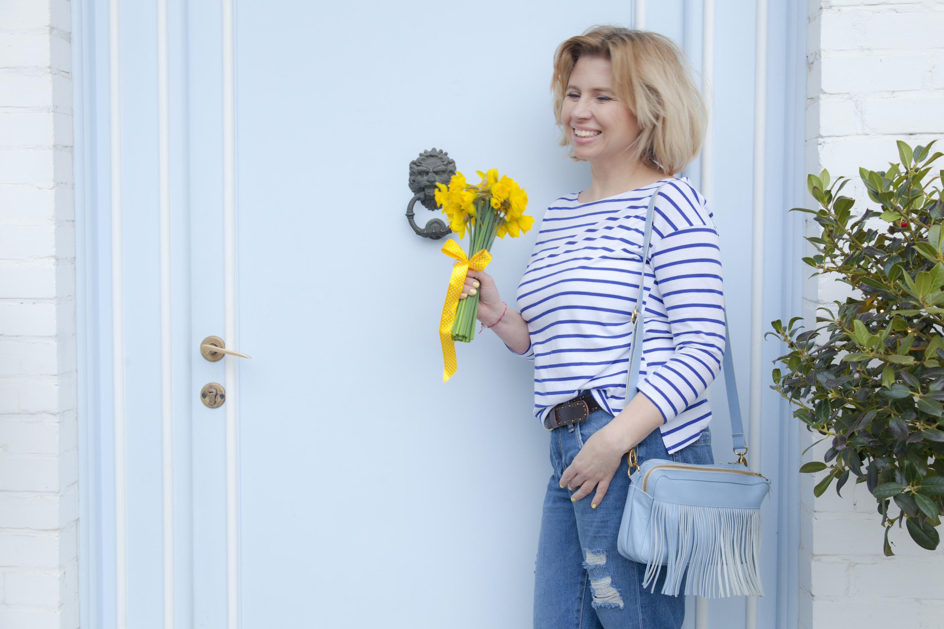 Top w paski – wiosenna stylizacja z mojej capsule wardorbe