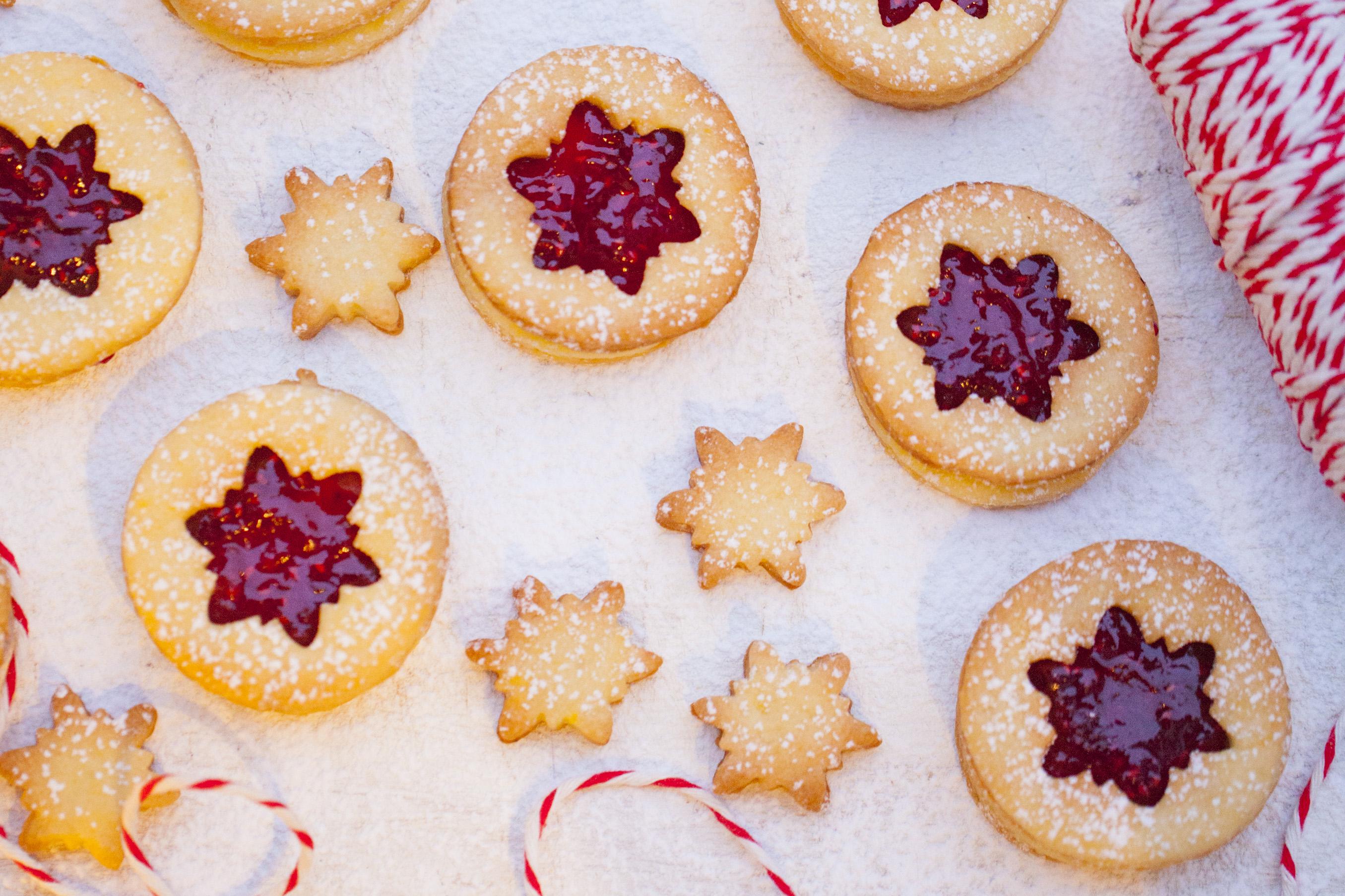 Świąteczne ciasteczka z gwiazdką