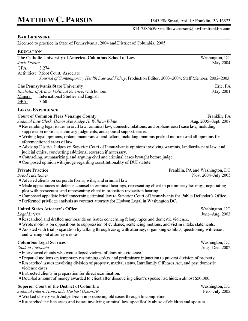 MCP Resume