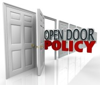 Open door policy in law firm