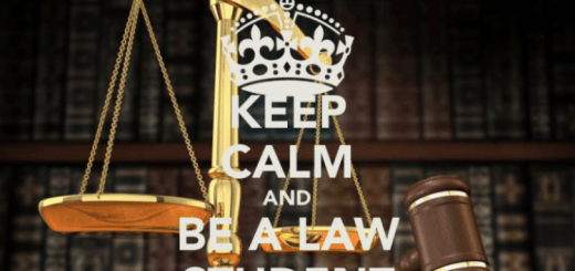 Keep calm and be a law student