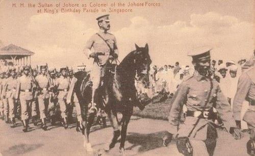 Mighell v Sultan of Johor