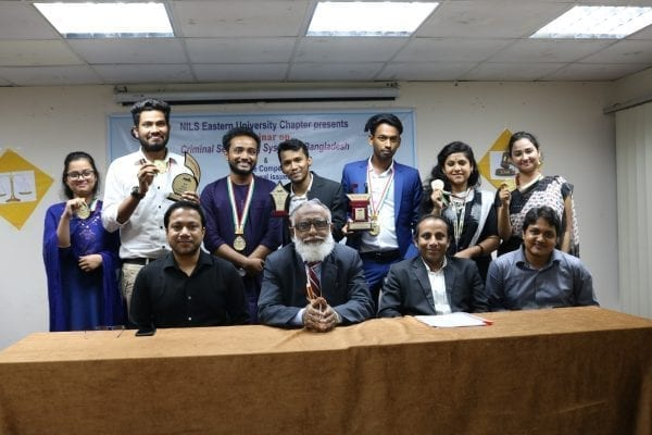 "NILS Eastern University Chapter Organized a Seminar on ""Criminal Sentencing System in Bangladesh"""