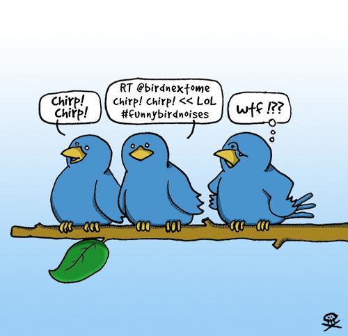 Cosas sobre twitter y otras weas... (2/3)