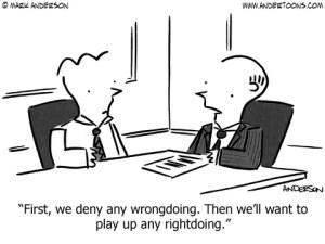 Croporate wrongdoing