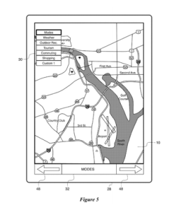 Patent Filed: Interactive Map