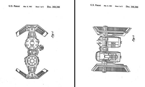 TIE Bomber Patent
