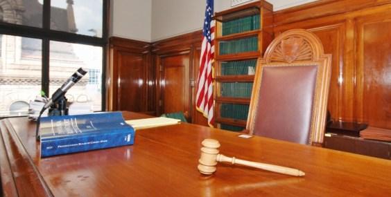 P - judge bench