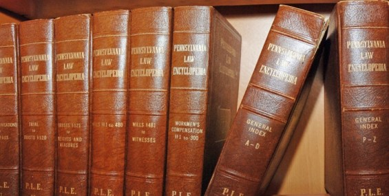 P - law books