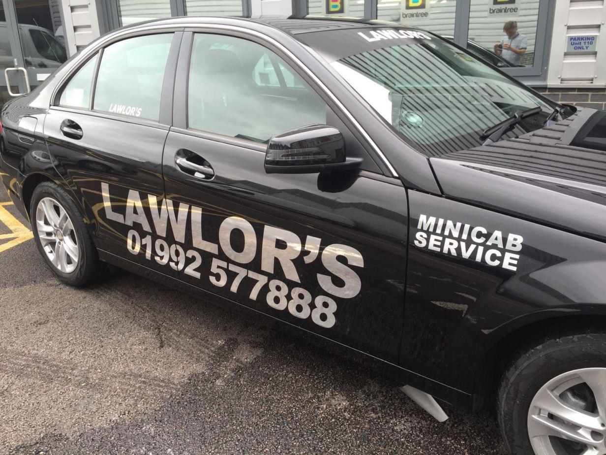 Black mercedes lawlor cars