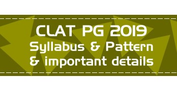 CLAT PG 2019 LLM Entrance Official Syllabus Pattern Previous Question Papers Mock Tests