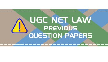 UGC NET Law previous question papers mocks and sample tests