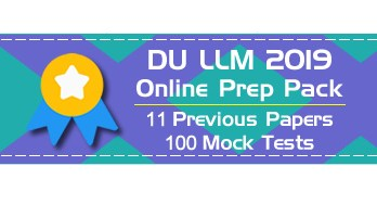 DU LLM Entrance DUET Delhi University Mock Test Previous Question Papers