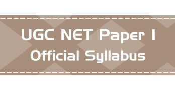 ugc net paper 1 official syllabus lawmint