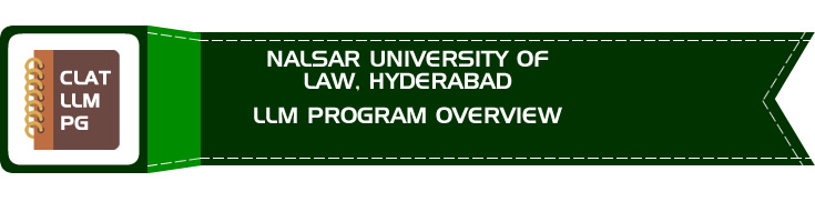 NALSAR UNIVERSITY OF LAW HYDERABAD CLAT LLM PG OVERVIEW LawMint.com