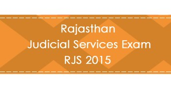 Rajasthan Judicial Services Exam RJS 2015 LawMint.com Judiciary Exam Mock Tests Civil Judge Previous Papers Legal Test Series MCQs Study Material Model Papers