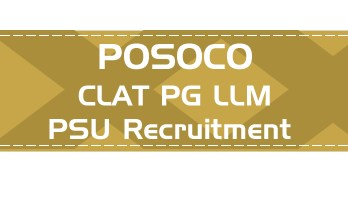 POSOCO PSU Recruitment CLAT PG syllabus GD PI GT Eligibility Age Limit Details Mock Test