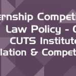Internship Competition Law Policy CIRC CUTS Institute for Regulation Competition