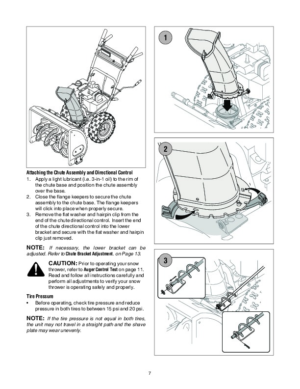 MTD 6DE C D Style Snow Blower Owners Manual