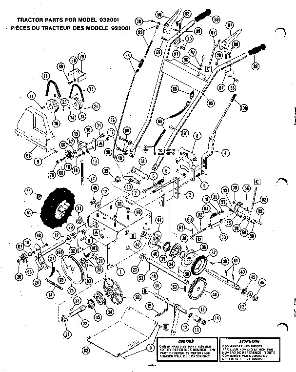 Push Mower Engine Diagram Murray Push Mower Diagram Wiring