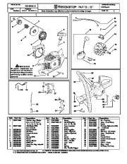Husqvarna 142 Chainsaw Spare Parts Manual, 2001,2002,2003