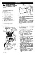 Craftsman 536.886261 26-Inch Snow Blower Owners Manual