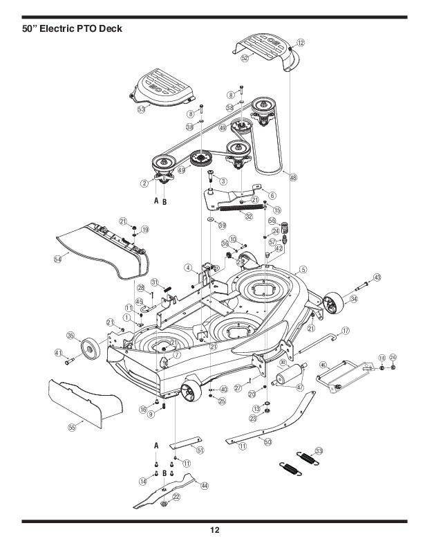 MTD 800 Series Automatic Garden Tractor Lawn Mower Parts
