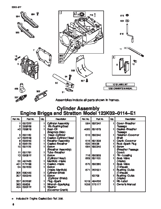 Toro 20033 21-Inch Super Recycler Lawn Mower Parts Catalog