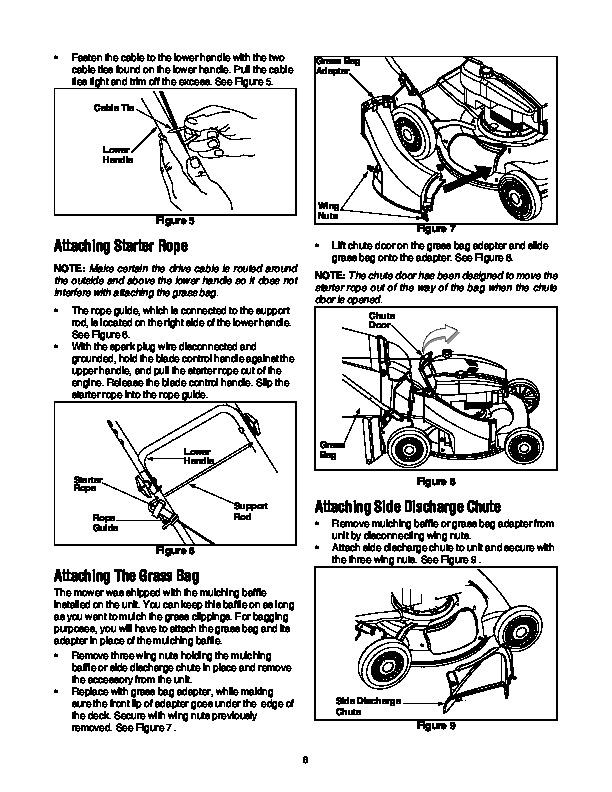 MTD 970 Series 21 Inch Self Propelled Rotary Lawn Mower