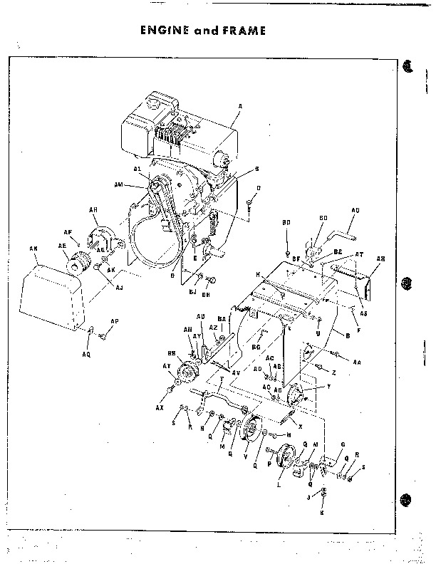Simplicity 372 Two Stage Snow Blower Owners Manual
