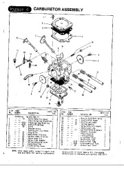 McCulloch Titan 50 57 Chainsaw Parts List, 1988