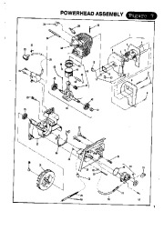 McCulloch Titan 50 57 Chainsaw Parts List, 1988