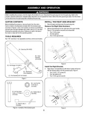 Craftsman 33731 33 Inch Wide Cut Lawn Mower Owners Manual