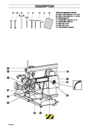 Husqvarna SMB70 70E Chainsaw Owners Manual, 2003,2004